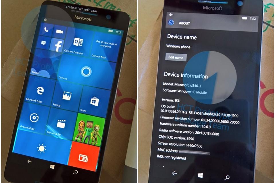 Imagem de Lumia 960 que nunca viu a luz do dia aparece funcionando em novo vazamento no tecmundo