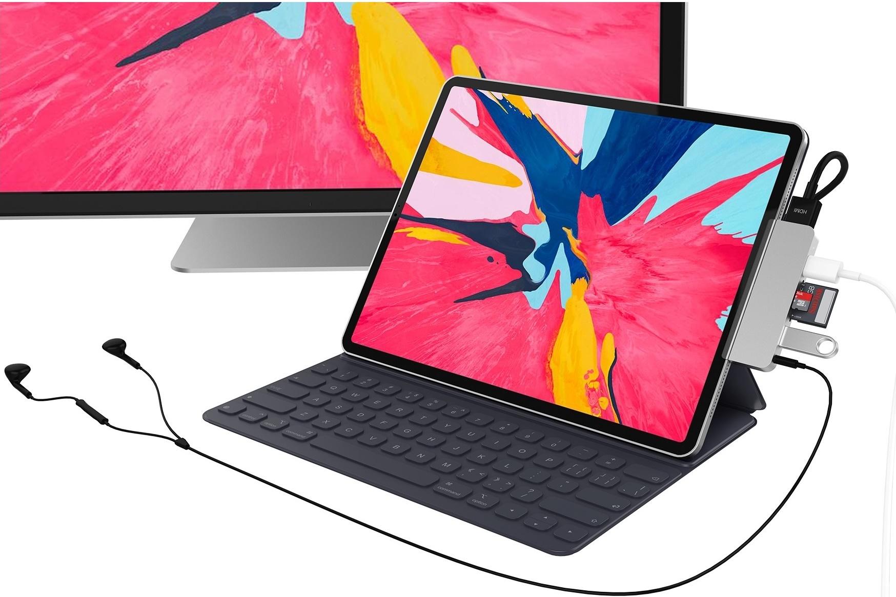 Imagem de Basicamente um notebook: começam a surgir hubs USB-C para o novo iPad Pro no tecmundo
