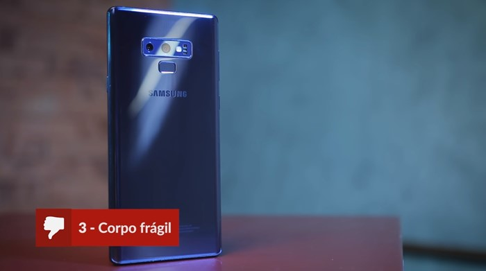 Galaxy Note 9 prós e contras