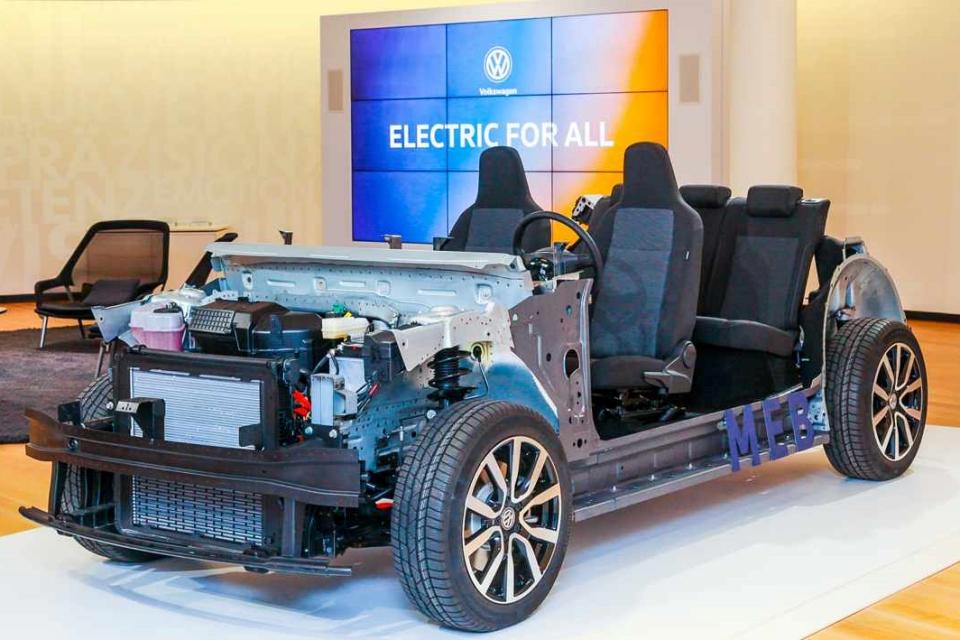 Imagem de Volkswagen deve ter carro elétrico mais barato que o Model 3, da Tesla no tecmundo