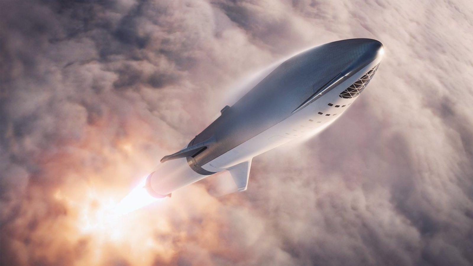 Imagem de Nave da SpaceX que vai levar passageiros até Marte ganha novo nome no tecmundo