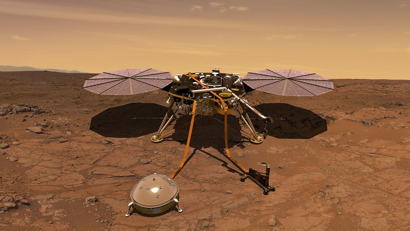 Imagem de Missão InSight pousa com sucesso em Marte e já envia foto para a Terra no tecmundo