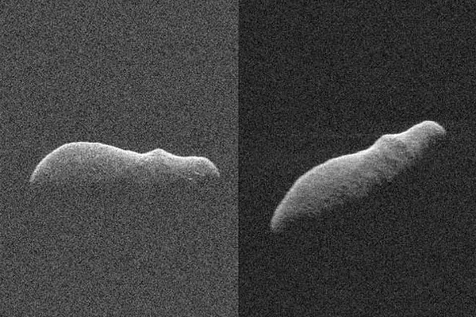 Imagem de NASA flagra asteroide com formato de hipopótamo próximo à Terra no tecmundo