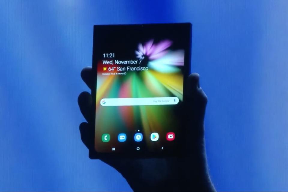 Imagem de Celular dobrável da Samsung será lançado no primeiro semestre de 2019 no tecmundo