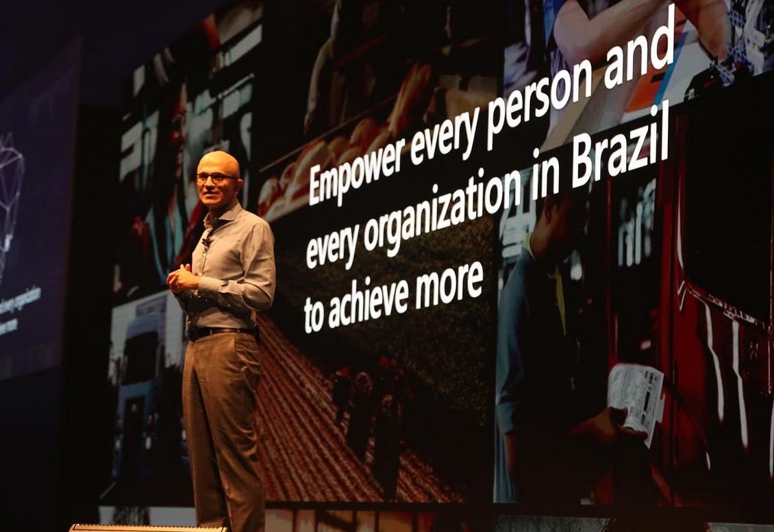 Imagem de Satya Nadella visita Brasil e anuncia parceria de Microsoft, SESI e Senai no tecmundo