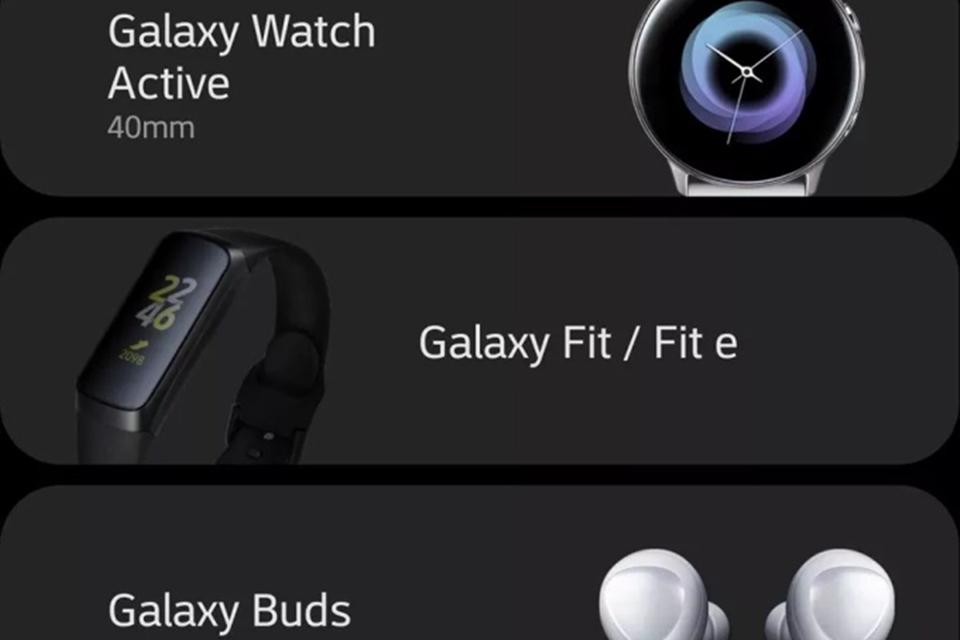 Imagem de Oops! Samsung revela sem querer novos smartwatch, fones e pulseiras fit no tecmundo