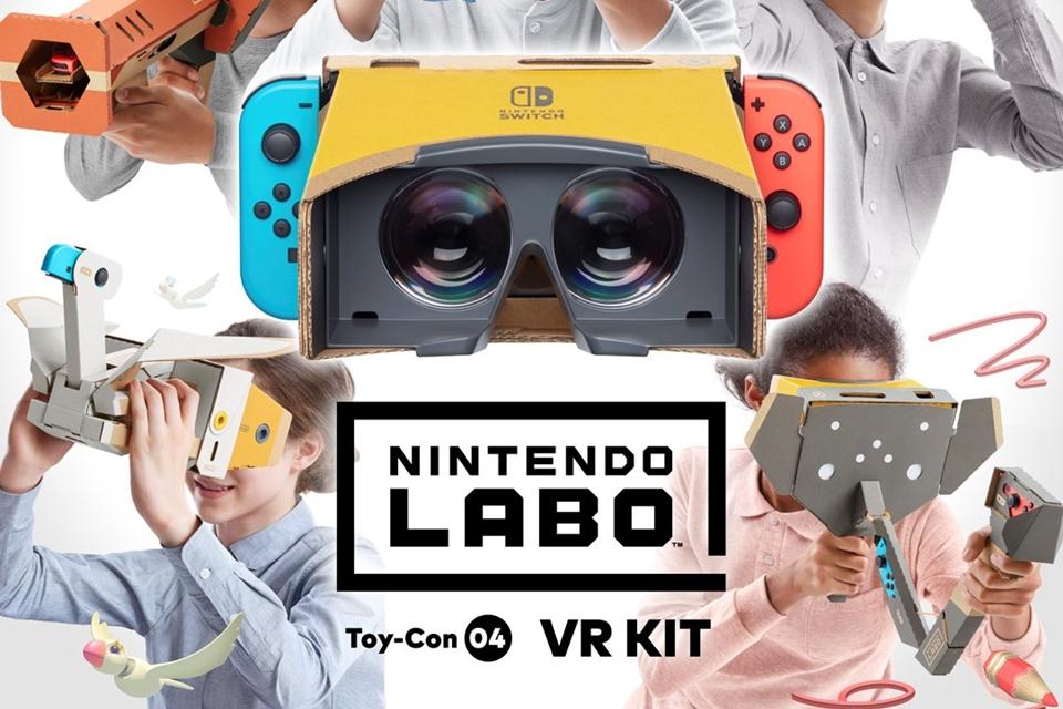 Imagem de Nintendo Switch terá seu primeiro óculos VR com o Nintendo Labo em abril no tecmundo