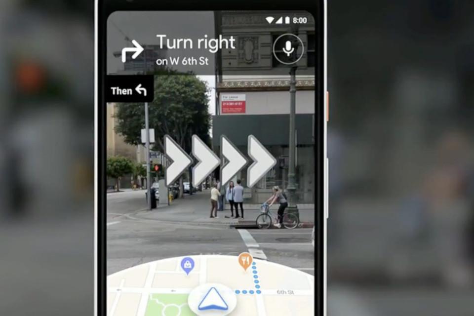 Imagem de Google Maps começa a testar navegação com uso de realidade aumentada no tecmundo