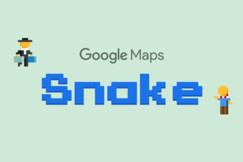 Imagem de Google Maps ganha jogo da cobrinha no 1º de abril no tecmundo
