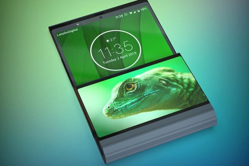 Imagem de Design de celular dobrável da Lenovo é diferente de tudo que você já viu no tecmundo