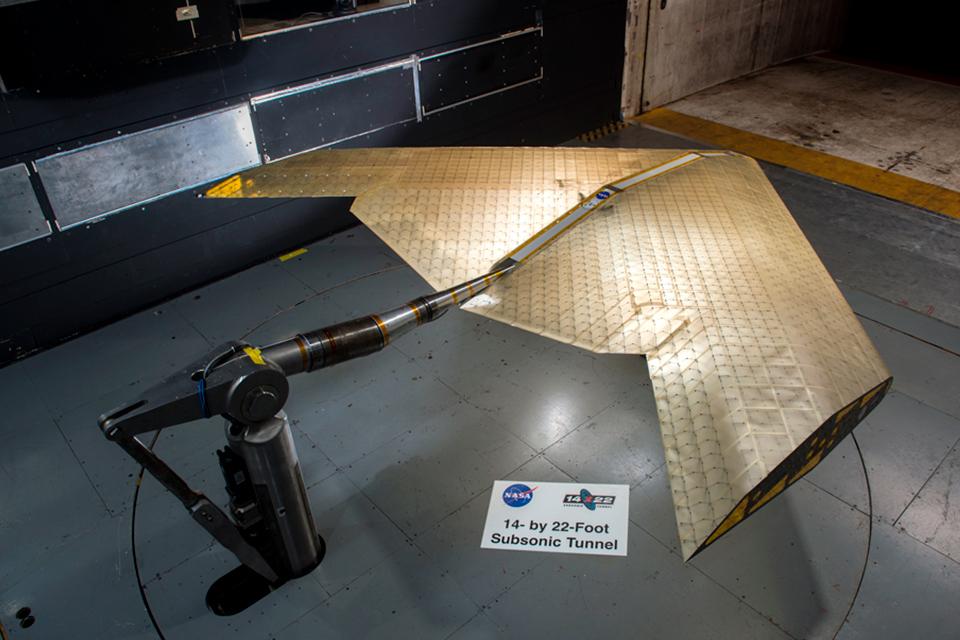 Imagem de NASA e MIT testam nova asa de avião que muda de forma  no tecmundo
