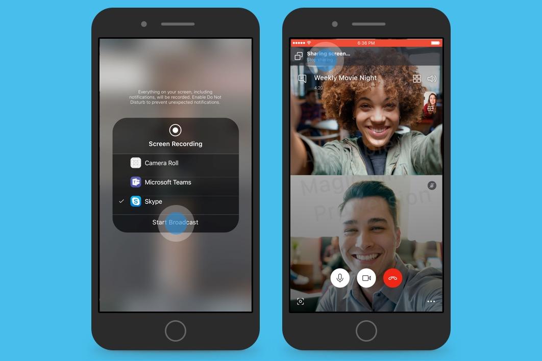 Imagem de Skype Beta permite compartilhamento de tela no Android e no iOS no tecmundo