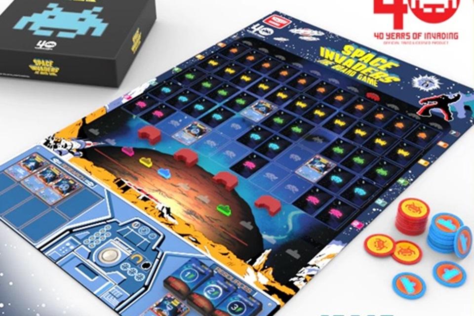 Imagem de Space Invaders ganhará uma versão de tabuleiro no tecmundo