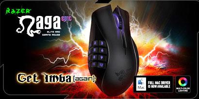 Imagem de Razer lança versão sem fio do mouse Razer Naga no site TecMundo