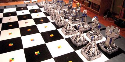 Imagem de Fã de Harry Potter cria xadrez de bruxo com robôs no site TecMundo