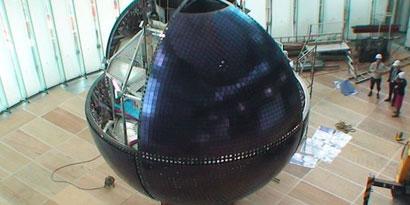Imagem de Mitsubishi cria globo gigante de OLED para o museu de Tokyo no site TecMundo