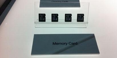Imagem de Surgem as primeiras imagens dos cartões de memória do PlayStation Vita no site TecMundo
