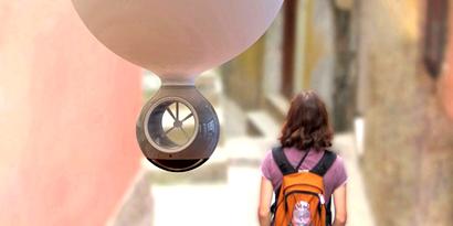 Imagem de Seed: conceito de minibalão que segue você durante suas férias no site TecMundo
