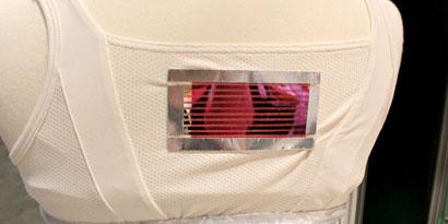 Imagem de Moda nanotecnológica: roupas usam tecnologia para regular temperatura no site TecMundo