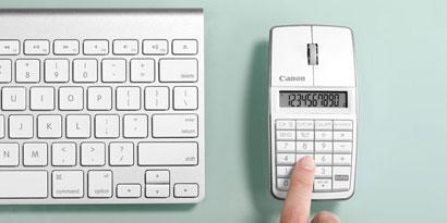 Imagem de Canon lança mouse com visor e calculadora no site TecMundo
