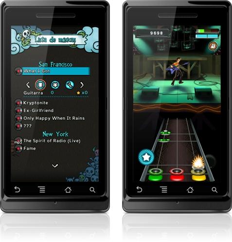 Febre dos consoles de videogame, Guitar Hero também faz sucesso em versões  mobile. O Guitar Hero 5 é um jogo bonito e divertido, com músicas  conhecidas de ... d423af123a