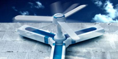 Imagem de Wind Cube: gerador eólico para uso doméstico no site TecMundo