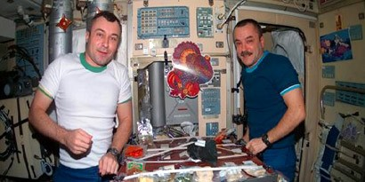 Imagem de Como os astronautas se alimentam no espaço? no site TecMundo