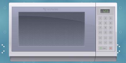 Imagem de Como funciona o forno de micro-ondas [infográfico] no site TecMundo