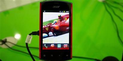 Imagem de Acer e Ferrari lançam novo smartphone Android no site TecMundo