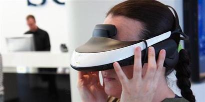 """Imagem de Visor de realidade virtual da Sony coloca você frente a tela de 750"""" no site TecMundo"""