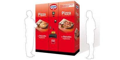 Imagem de Máquina para venda automática de pizzas é instalada na Alemanha no site TecMundo