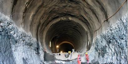 Imagem de Conheça como é a construção do maior túnel do mundo no site TecMundo