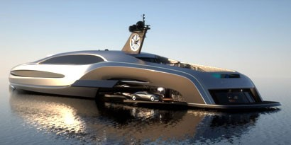 Imagem de Sovereign: um conceito de iate que pode até carregar um carro no site TecMundo