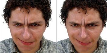 Imagem de Photoshop: Diminuindo o tamanho do nariz no site TecMundo