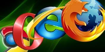 Imagem de Guerra dos navegadores no site TecMundo