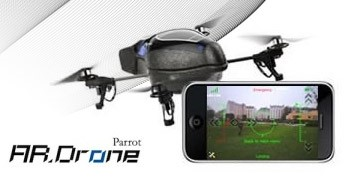 Imagem de Parrot AR-Drone: o quadricóptero controlado pelo iPhone no site TecMundo