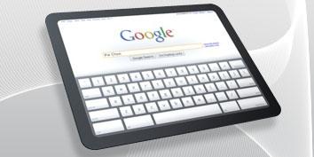 Imagem de Sistema operacional do Google para tablets no site TecMundo