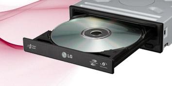 Imagem de Novos drives Blu-ray da LG são mostrados na CeBIT 2010 no site TecMundo