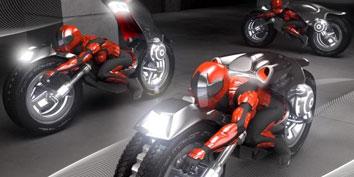 Imagem de Stryker: motocicleta elétrica apresenta design visionário no site TecMundo