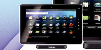 Imagem de Toshiba apresenta tablet com Android no site TecMundo