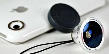 Imagem de Empresa lança lentes profissionais para celulares no site TecMundo