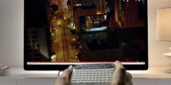 Imagem de Comercial da Google TV cai na rede no site TecMundo