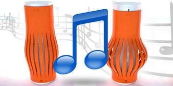 Imagem de Caixa de som que se modifica ao aumentar ou diminuir o volume no site TecMundo