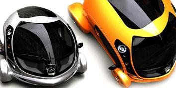 Imagem de KAWKABA: carro futurista com conceito ecológico no site TecMundo
