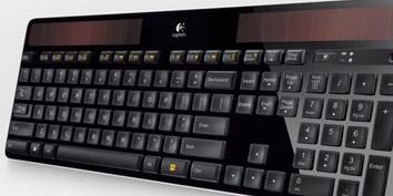 Imagem de Logitech lança teclado sem fio alimentado por energia solar no site TecMundo