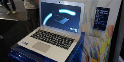 """Imagem de CCE """"apresenta"""" seu primeiro ultrabook no site TecMundo"""