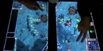 Imagem de Partidas de Starcraft 2 em telas multitouch? no site TecMundo