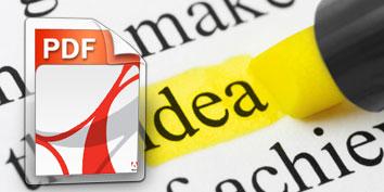 Imagem de Como usar caneta marca-texto para destacar trechos em arquivos PDF no site TecMundo