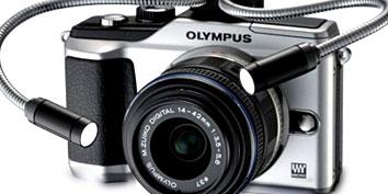 Imagem de Olympus E-PL2 vem com acessório especial para iluminação no site TecMundo