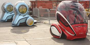 Imagem de EN-V: conceito de carro estaciona sozinho e vai até você no site TecMundo